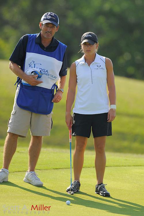 Laura Kueny during the second round of the LPGA Futures Tour's Daytona Beach Invitational at LPGA International's Championship Course on April 2, 2011 in Daytona Beach, Florida... ©2011 Scott A. Miller