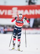 KUUSAMO, FINLAND - 2017-11-26: Marit Bj&ouml;rgen, Norge under damernas l&auml;ngdkid&aring;kning 10km jaktstart under FIS World Cup Ruka Nordic p&aring; Ruka Stadium den 26 November, 2017 i Kuusamo, Finland.<br /> Foto: Nils Petter Nilsson/Ombrello<br /> ***BETALBILD***