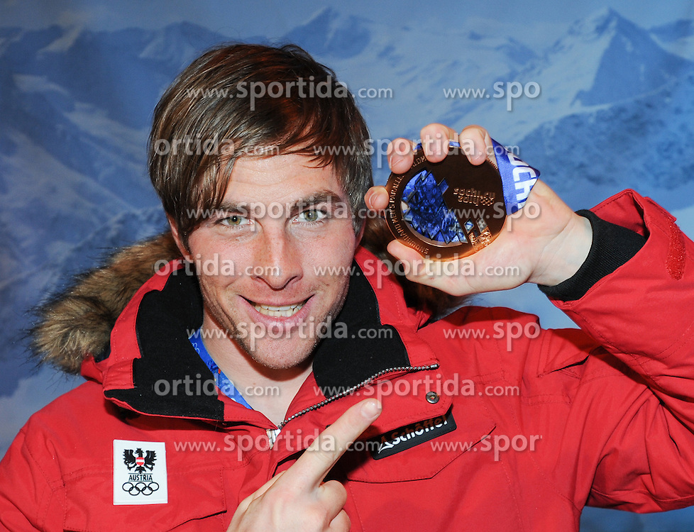 22.02.2014, Austria Tirol House, Sochi, RUS, Sochi 2014, Medaillenfeier, im Bild // during the medal party in Austria house Tyrol at the Olympic Winter Games 'Sochi 2014' at the Austria Tirol House in Krasnaya Polyana, Russia on 2014/02/22. EXPA Pictures © 2014, PhotoCredit: EXPA/ Erich Spiess