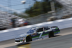 July 20, 2018 - Loudon, New Hampshire, United States of America - Justin Allgaier (7) takes to the track to practice for the Lakes Region 200 at New Hampshire Motor Speedway in Loudon, New Hampshire. (Credit Image: © Justin R. Noe Asp Inc/ASP via ZUMA Wire)