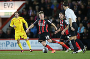 AFC Bournemouth midfielder Matt Ritchie during the Capital One Cup match between Bournemouth and Liverpool at the Goldsands Stadium, Bournemouth, England on 17 December 2014.