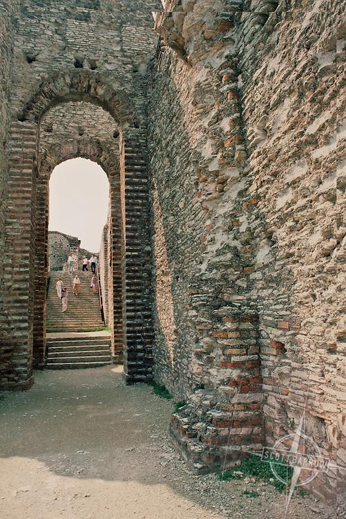 Sempione Italy, Lake Garda, Roman ruins