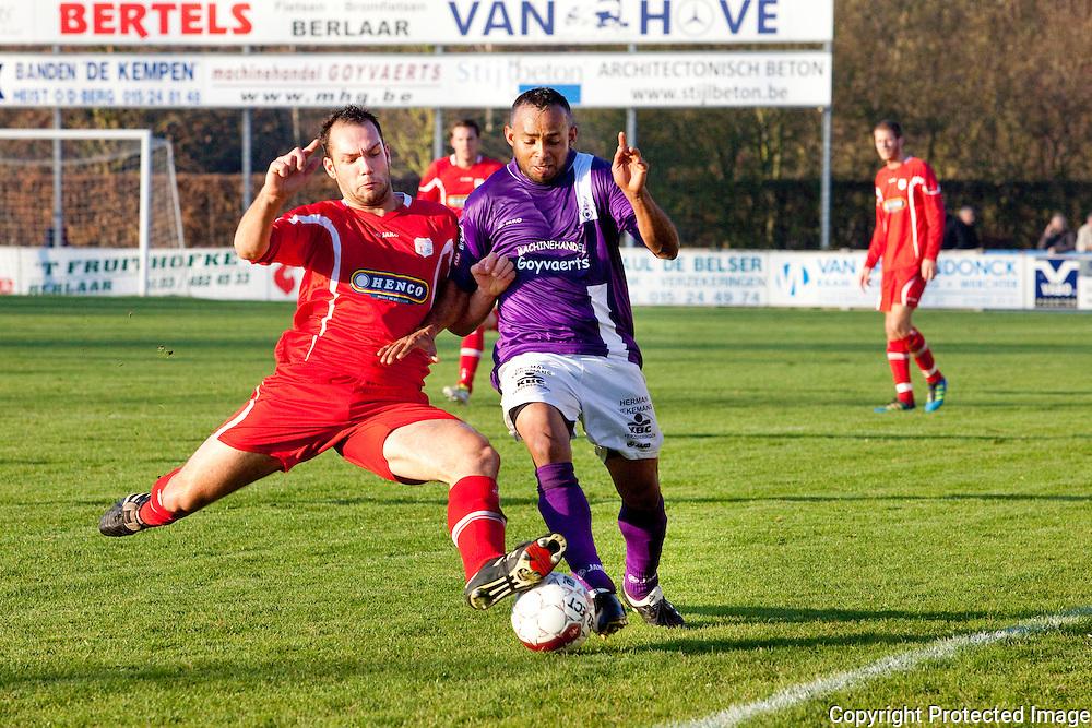 369587-Voetbal FC Heikant tegen VC Herentals-Nick Van Peer en Wamberto Sousa Campos