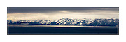 &quot;West Shore Panoramic&quot;<br /> <br /> View of Tahoe's West Shore: Mt. Tallac and Desolation