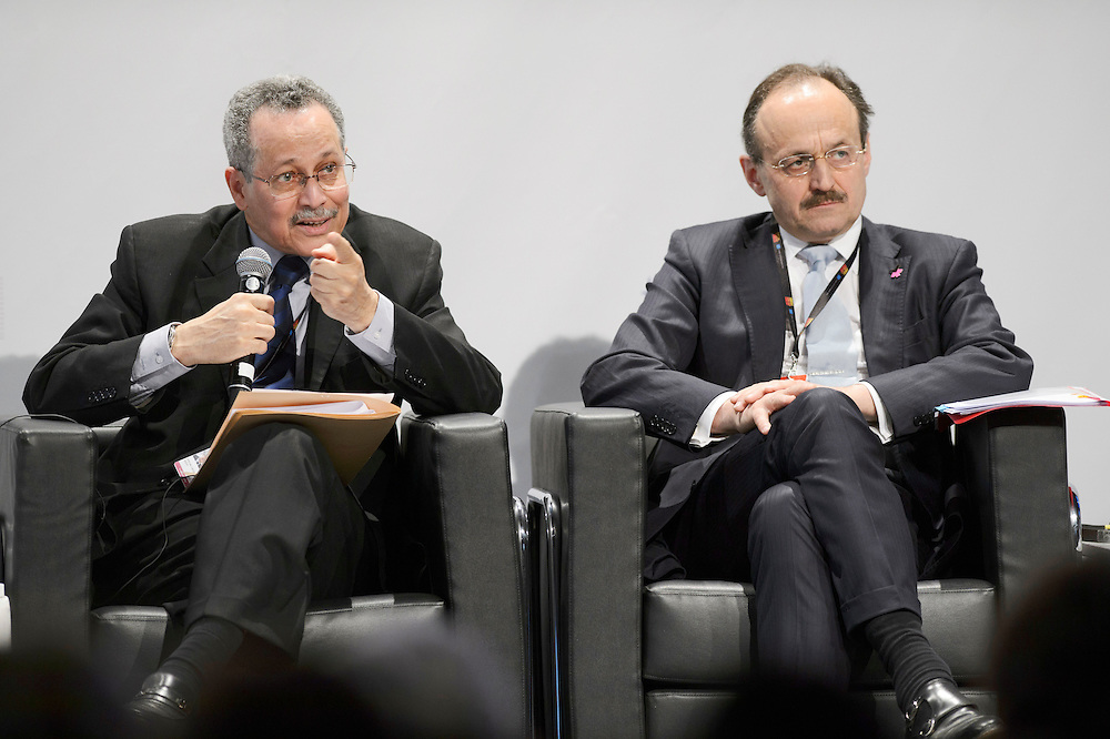 03 June 2015 - Belgium - Brussels - European Development Days - EDD - Gender - Ending gender inequality by 2030! - Patrick I. Gomes , Secretary General of the African , Caribbean and Pacific group of States (ACP Group of States) - Klaus Rudischhauser , Deputy Director General at DG for International Cooperation and Development © European Union