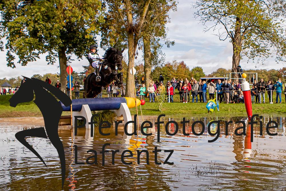 Leube Sophie, GER, Sweetwaters Ziethen<br /> Le Lion d'Angers - Eventing World Breeding Championship 2019<br /> Teilprüfung Cross-Country 6 jährige<br /> 19. Oktober 2019<br /> © www.sportfotos-lafrentz.de/Dirk Caremans