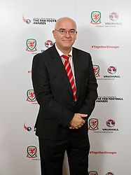 CARDIFF, WALES - Monday, October 6, 2014: Wales' Ceri Stennett at the FAW Footballer of the Year Awards 2014 held at the St. David's Hotel. (Pic by David Rawcliffe/Propaganda)