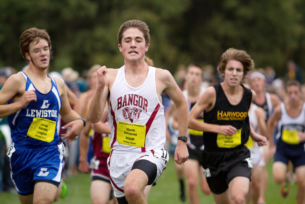 Festival of Champions High School Cross Country meet, Matt Stevenson, Bangor