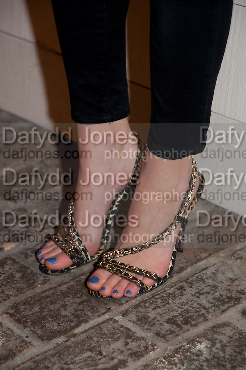 PIXIE GELDOF' S SHOES InStyle Best Of British Talent , Shoreditch House, Ebor Street, London, E1 6AW, 26 January 2011