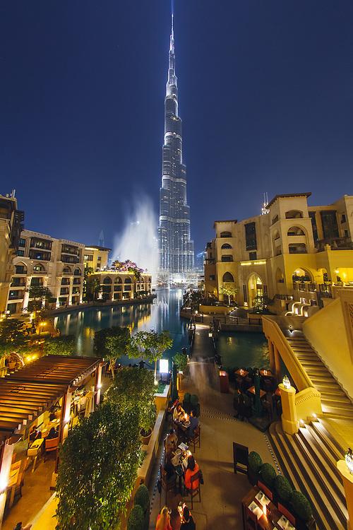 Burj Khalifa view from Palace downtown