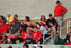 03 September 2016:  Jeff Collins sits in the stands. NCAA FCS Football game between Valparaiso Crusaders and Illinois State Redbirds at Hancock Stadium in Normal IL (Photo by Alan Look)