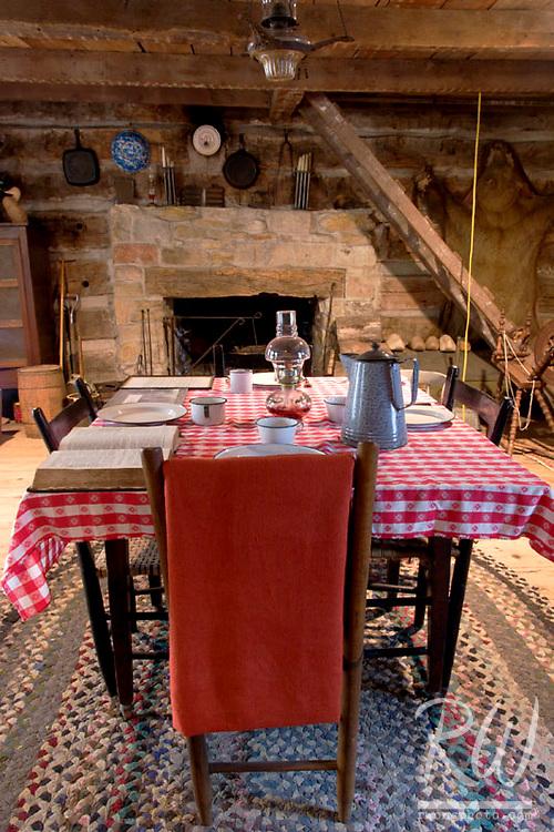 Dining Room, Pella Historical Village, Iowa