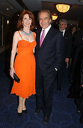 Actress JANE ASHER and her husband MR GERALD SCARFE at the 2005 British Book Awards held at The Grosvenor House Hotel, Park lane, London on 20th April 2005.<br />