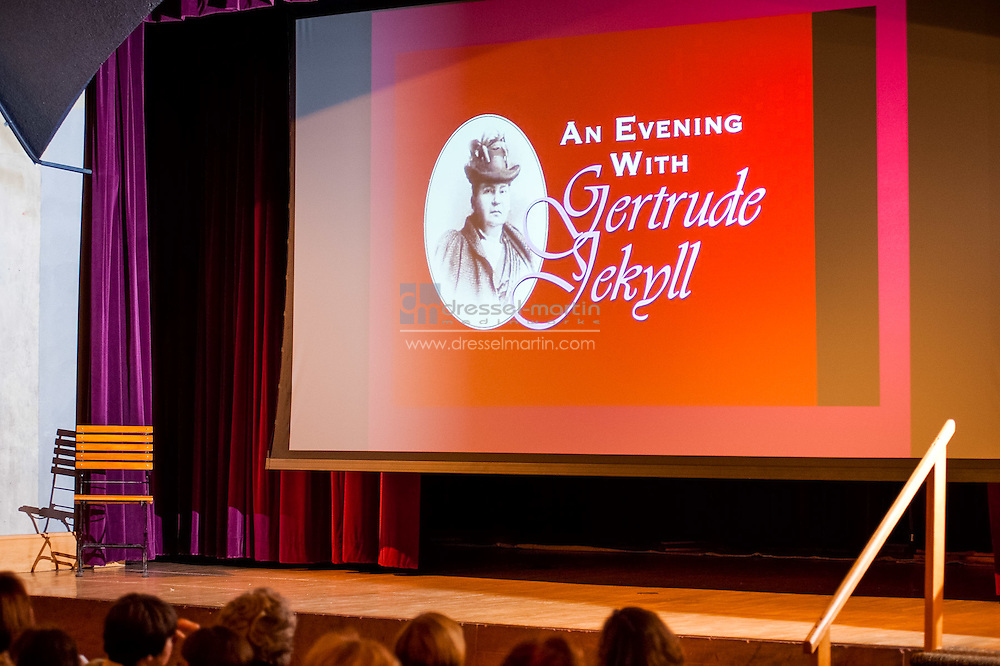 Bonfils Stanton Lecture Series, Gertrud Jekyll re-enactor, presenter
