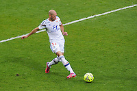Christophe JALLET - 02.05.2015 - Lyon / Evian Thonon - 35eme journee de Ligue 1<br />Photo : Jean Paul Thomas / Icon Sport