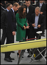 The Duke and Duchess of Cambridge open the new Cycling Centre of Excellence Velodrome in Hamilton, New Zealand, on day 6 of the  Royal Tour of New Zealand and Australia, Saturday, 12th April 2014. Picture by Andrew Parsons / i-Images