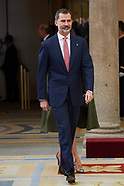 021918 Spanish Royals Deliver the National Sports Awards 2016