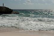 Coastal Scenery<br /> Slagbaai National Park<br /> BONAIRE, Netherlands Antilles, Caribbean<br /> HABITAT & DISTRIBUTION: Shallow & mid-range coral reefs, walls and rocky areas. <br /> Florida, Bahamas & Caribbean.