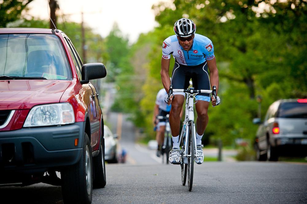 Freshbikes Tuesday Night Ride, April 17th, 2012.