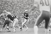 COLLEGE FOOTBALL: Stanford v Cal in the Big Game, Nov 22, 1975 at Stanford Stadium in Palo Alto, California.  Guy Benjamin #7 quarterback.  Photograph by David Madison
