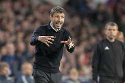 October 4, 2018 - Eindhoven, Netherlands - PSV Coach Mark Van Bommel reacts during the UEFA Champions League Group B match between PSV Eindhoven and FC Internazionale Milano at Philips Stadium in Eindhoven, Holland on October 3, 2018  (Credit Image: © Andrew Surma/NurPhoto/ZUMA Press)