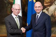 Letta - Van Rompuy press conference