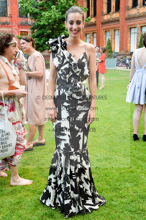 Laura Jackson at the V&A Summer Party 2017 held at the Victoria & Albert Museum, London England. 21 June 2017.