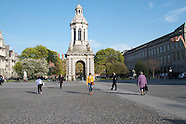 Stock images of Trinity College, Dublin
