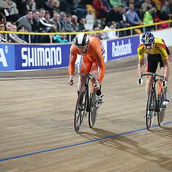 Roy van den Berg klopt Hugo Haak in twee ritten tijdens finale NK sprint