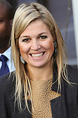 Prinses Maxima bij FMO conferentie 'The Future of Banking'
