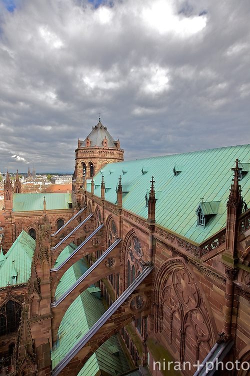 Flying Buttresses at Strasbourg Cathedral