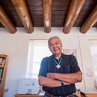 100313       Cable Hoover<br /> <br /> Hayes Lewis began his current term as Zuni School superintendent in August, 2012.