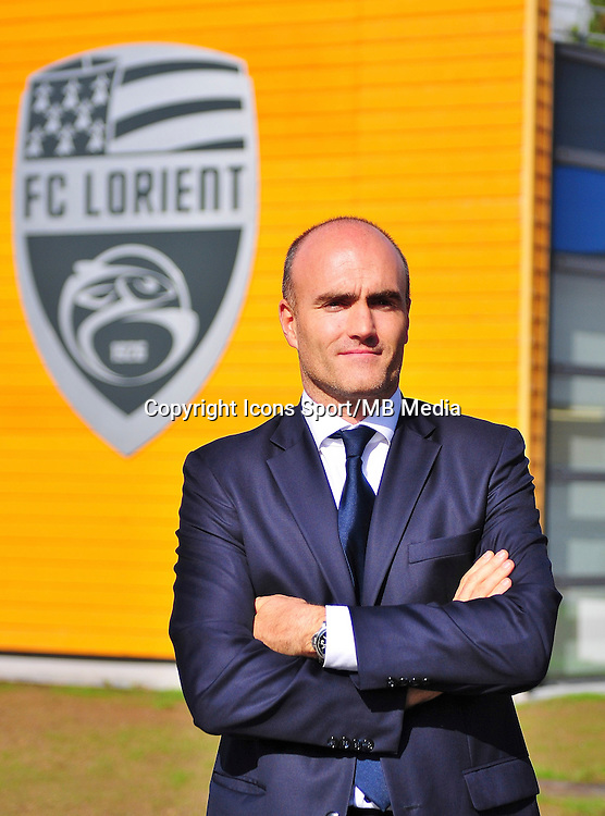 Loic FERY (president) - 16.10.2013 - Photo Officielle Lorient - Ligue 1<br /> Photo : Philippe Le Brech / Icon Sport
