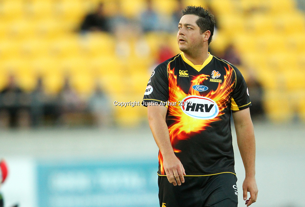 Firebirds' Jesse Ryder looks on during the 2012/2013 HRV Cup Twenty20 session. Wellington Firebirds v Canterbury Wizards at Westpac Stadium, Wellington, New Zealand on Friday 9 November 2012. Photo: Justin Arthur / photosport.co.nz
