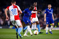 Ngolo Kante of Chelsea - Mandatory by-line: Robbie Stephenson/JMP - 18/04/2019 - FOOTBALL - Stamford Bridge - London, England - Chelsea v Slavia Prague - UEFA Europa League Quarter Final 2nd Leg