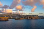 Aerial, Hanauma Bay, Koko Crater, Hawaii Kai, Honolulu, Oahu, Hawaii
