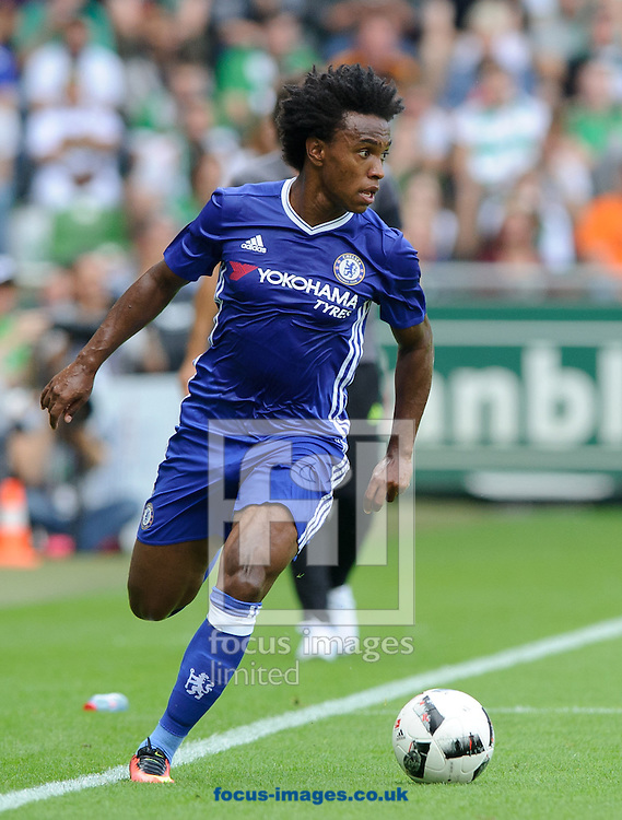 Willian of Chelsea during the pre season friendly match at Weserstadion, Bremen, Germany.<br /> Picture by EXPA Pictures/Focus Images Ltd 07814482222<br /> 07/08/2016<br /> *** UK &amp; IRELAND ONLY ***<br /> EXPA-EIB-160807-0238.jpg