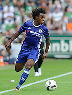 Willian of Chelsea during the pre season friendly match at Weserstadion, Bremen, Germany.<br /> Picture by EXPA Pictures/Focus Images Ltd 07814482222<br /> 07/08/2016<br /> *** UK & IRELAND ONLY ***<br /> EXPA-EIB-160807-0238.jpg