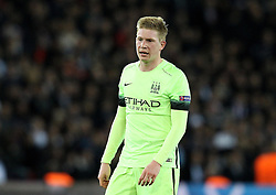 Kevin De Bruyne of Manchester City - Mandatory by-line: Robbie Stephenson/JMP - 06/04/2016 - FOOTBALL - Parc des Princes - Paris,  - Paris Saint-Germain v Manchester City - UEFA Champions League Quarter Finals First Leg