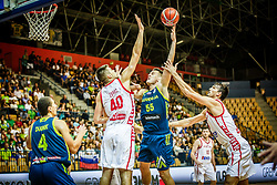 Jakob Cebasek of Slovenia during friendly basketball match between Slovenia and Croatia , on September 8, 2018 in Arena Zlatorog, Celje, Slovenia. Photo by Ziga Zupan / Sportida