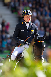 Michael Jung, (GER), Fischerrocana FST - Jumping Eventing - Alltech FEI World Equestrian Games™ 2014 - Normandy, France.<br /> © Hippo Foto Team - Leanjo De Koster<br /> 31-08-14
