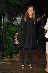 CAROL VORDERMAN at the annual Sir David & Lady Carina Frost Summer Party in Carlyle Square, London SW3 on 5th July 2007.<br /><br />NON EXCLUSIVE - WORLD RIGHTS