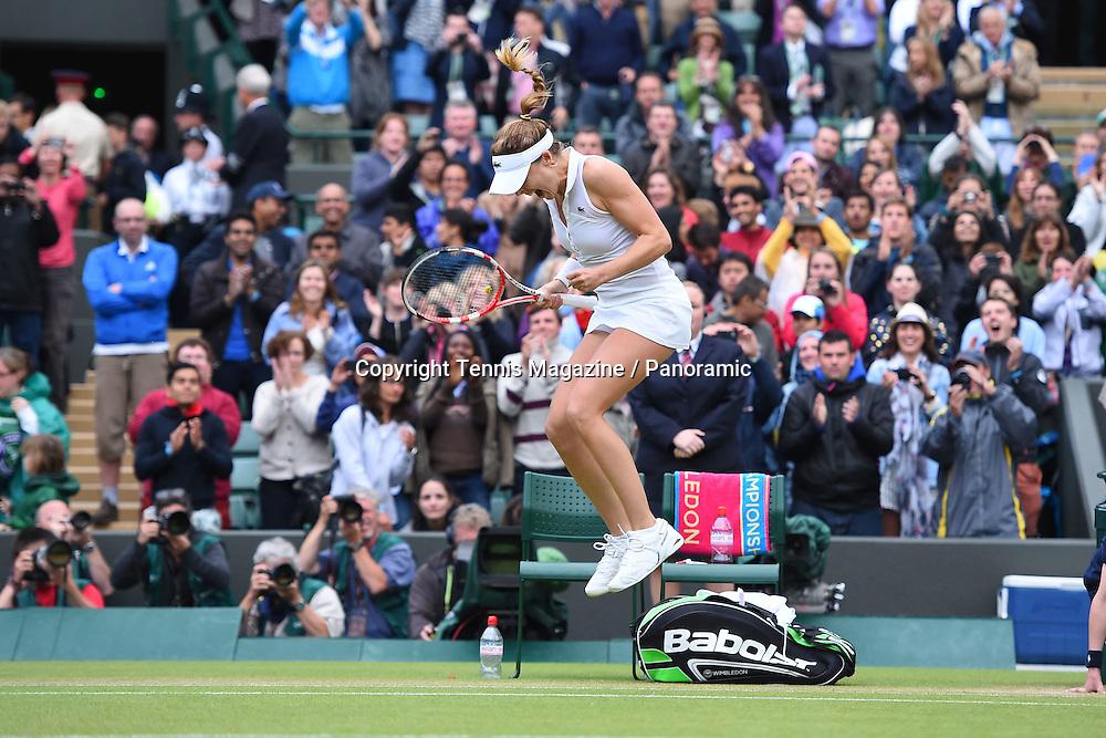 Alize Cornet (Fra) def Serena Williams (USA)
