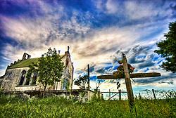 Capelinha de Santo Antonio na beira da estrada RS 471, próximo a Encruzilhada do Sul / RS. FOTO: Jefferson Bernardes/Preview.com