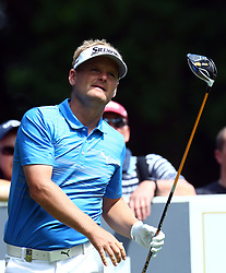 May 25, 2017 - Virginia Water, United Kingdom - Soren Kjeldsen of Denmark  during 1st Round for the 2017 BMW PGA Championship on the west Course at Wentworth on May 25, 2017 in Virginia Water,England  (Credit Image: © Kieran Galvin/NurPhoto via ZUMA Press)