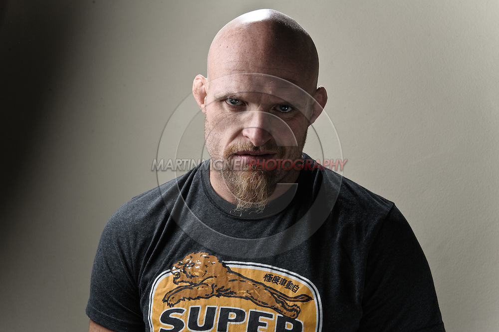 """A portrait of mixed martial arts athlete Keith """"The Dean of Mean"""" Jardine"""