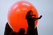 'Watch This Space' Footnote New Zealand Dance: Maatakitakihia Mai Tenei Waahi at City Gallery responding to Seung Yul Oh MOAMOA, A Decade, Wellington. Friday 27 June 2014. Wellington Museums Trust. <br /> Photo: Mark Tantrum / www.marktantrum.com