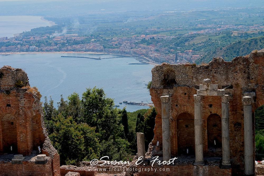Ruins at Taormina, Sicily