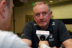06–01-2020 NED: CEV Tokyo Volleyball European Qualification Women, Apeldoorn<br /> Press moment and representatives of the eight national teams for one spot Tokyo 2020 / Coach Jacek Nawrocki