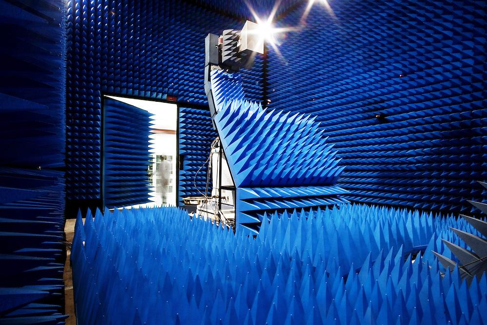 Camera anecoica<br /> <br /> anechoic chamber